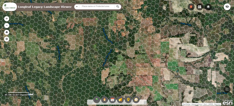 Longleaf Legacy Landscape Viewer Image