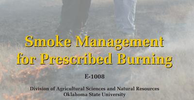 Smoke Management for Prescribed Burning