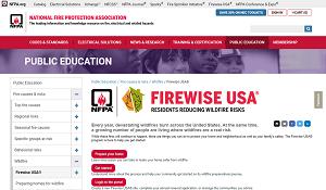 NFPA Firewise USA