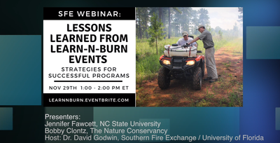 SFE Lessons Learned from Learn-n-Burn Events