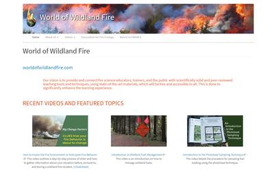 World of Wildland Fire