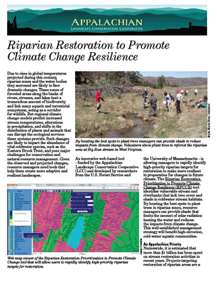 Fact Sheet: Riparian Restoration Decision Support Tool