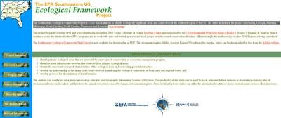 EPA Southeastern Ecological Framework Project