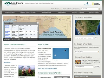 National Geographic Foundation: LandScope America