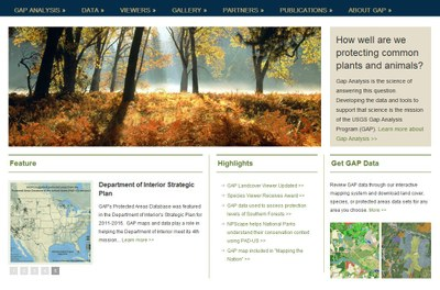 USGS GAP Analysis Program