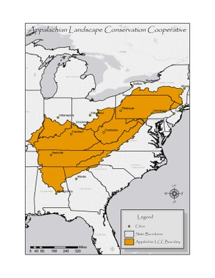 Appalachian Boundary File