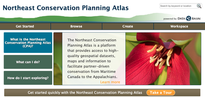 Northeast Conservation Planning Atlas