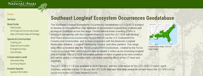 Southeast Longleaf Ecosystem Occurrences (LEO) Geodatabase
