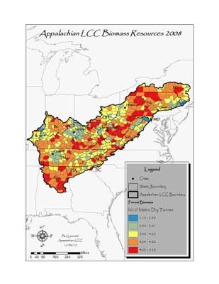 App LCC Forest Biomass