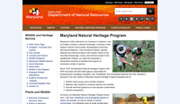 Maryland Department of Natural Resources - Natural Heritage Program