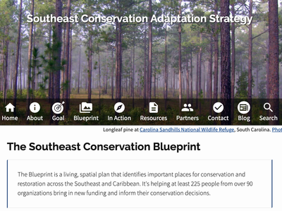 Southeast Conservation Blueprint