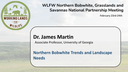 Northern Bobwhite Trends and Landscape Needs: Dr. James Martin