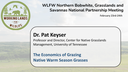 The Economics of Grazing Native Warm Season Grasses: Dr. Pat Keyser