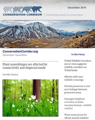 Conservation Corridor December 2019 Newsletter