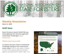National Association of State Foresters Weekly Newsletter March 6, 2020
