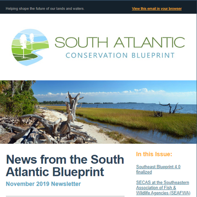 South Atlantic LCC Newsletters