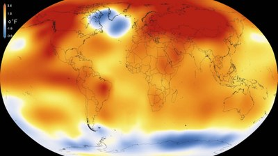 NASA, NOAA Analyses Reveal Record-Shattering Global Warm Temperatures in 2015