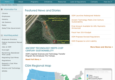 OSM Launches Redesigned Website