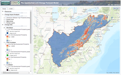 Tools and Resources for Addressing Energy Development in the Appalachians