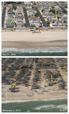 USGS-NOAA: Climate Change Impacts to U.S. Coasts Threaten Public Health, Safety and Economy