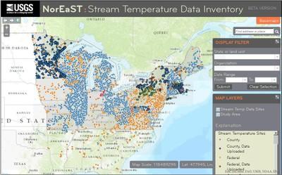 Stream Temperature Inventory and Mapper