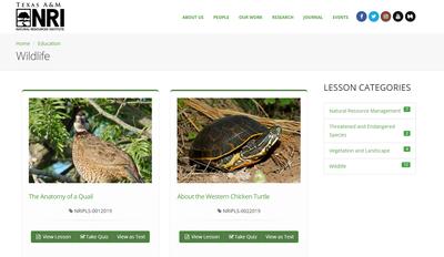 Private Land Stewardship Academy: Wildlife Lessons