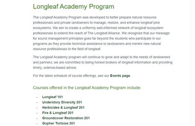 The Longleaf Academy